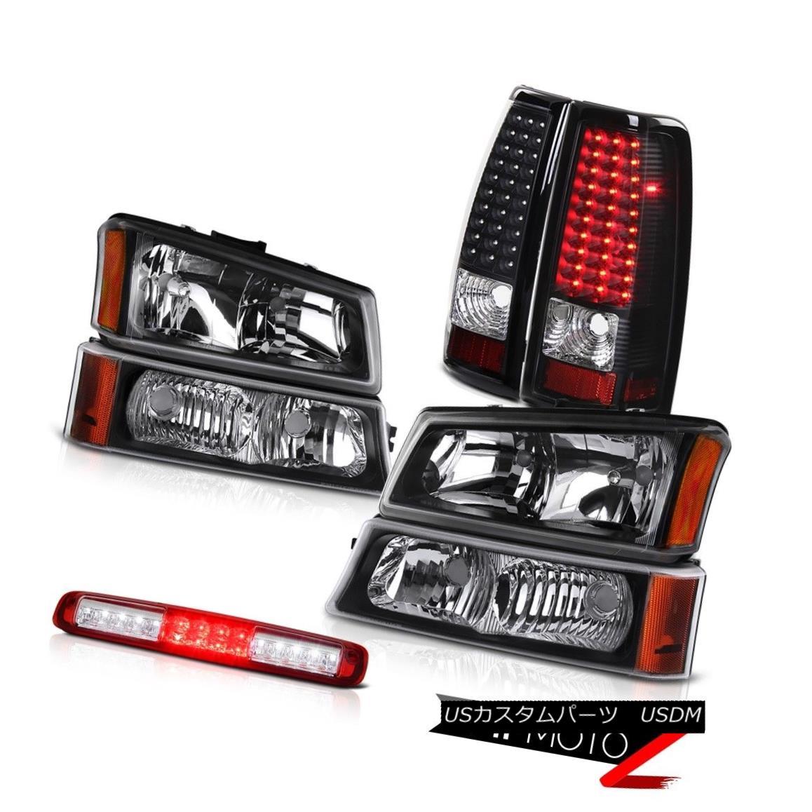 ヘッドライト 03-06 Silverado 3500Hd Signal Light Red Roof Brake Headlamps Tail Lamps LED SMD 03-06 Silverado 3500HdシグナルライトレッドルーフブレーキヘッドランプテールランプLED SMD