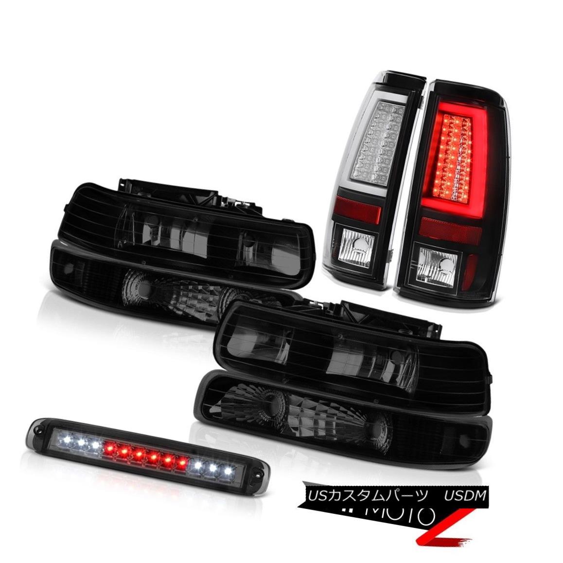 ヘッドライト 99 00 01 02 Silverado 4WD Black Taillamps Headlights Bumper Roof Brake Light LED 99 00 01 02 Silverado 4WD Black TaillampsヘッドライトバンパールーフブレーキライトLED