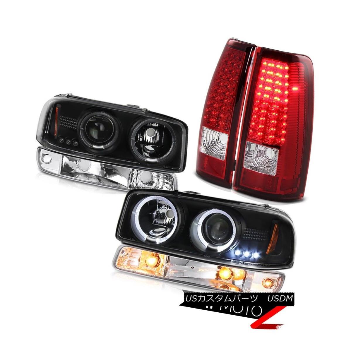 ヘッドライト 99 00 01 02 Sierra WT SMD taillights chrome parking lamp raven black headlamps 99 00 01 02 Sierra WT SMDテールランプクロームパーキングランプレーンブラックヘッドランプ