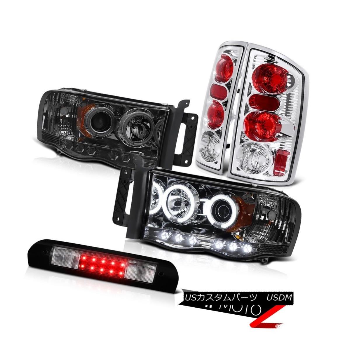 ヘッドライト Tint CCFL DRL Halo Headlights Rear Brake Tail Lights High LED 02 03 04 05 Ram WS ティントCCFL DRLハローヘッドライトリアブレーキテールライトハイLED 02 03 04 05 Ram WS