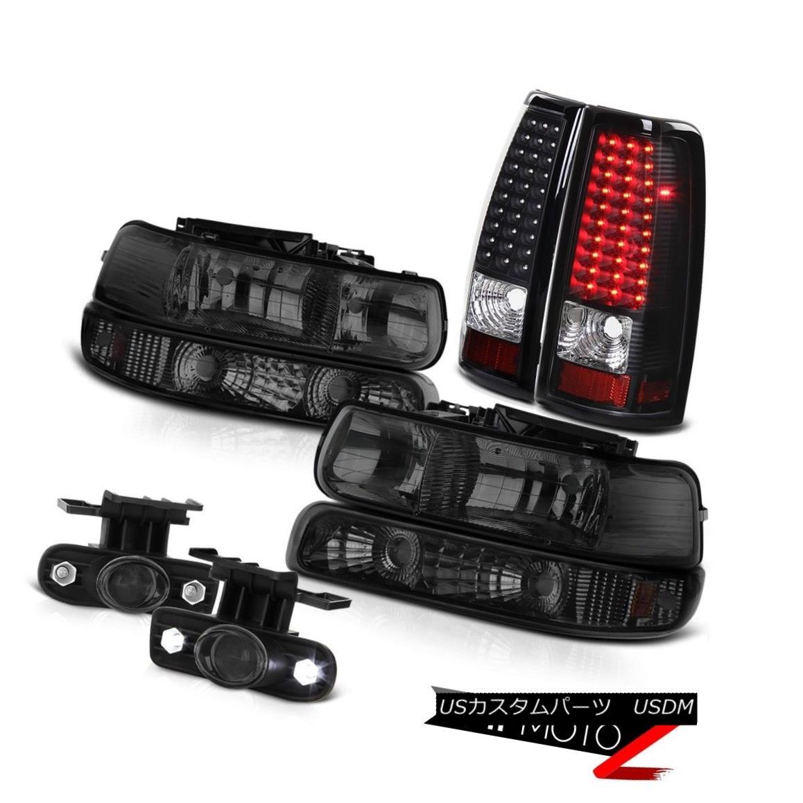 ヘッドライト 1999-2002 Chevrolet Silverado Headlights Turn Signal Bumper Lamp LED Tail Lamps 1999-2002シボレーシルバラードヘッドライトターンシグナルバンパーランプLEDテールランプ