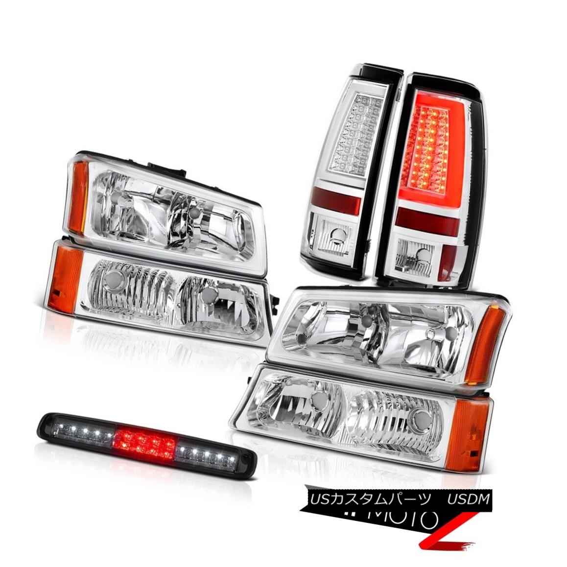 ヘッドライト 03 04 05 06 Chevy Silverado Taillamps Headlamps Roof Cargo Lamp
