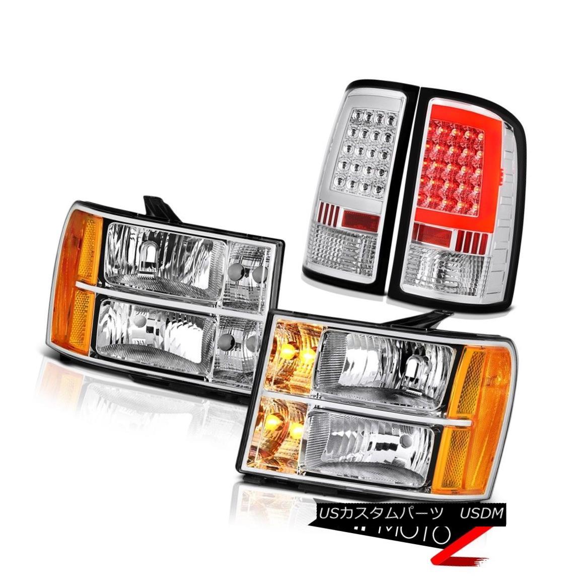 ヘッドライト 2008-2014 Sierra 2500 SL Taillamps Headlights