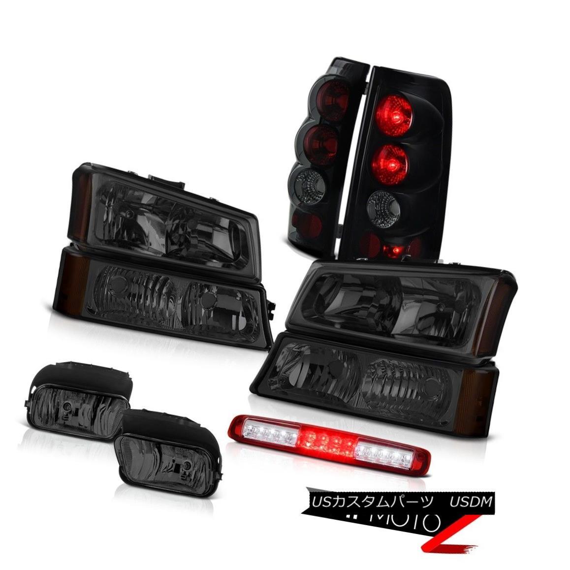 ヘッドライト 2003-2006 Silverado Foglamps Bumper Light Red Roof Brake Headlights Rear Lights 2003-2006 Silverado Foglampsバンパーライトレッドルーフブレーキヘッドライトリアライト