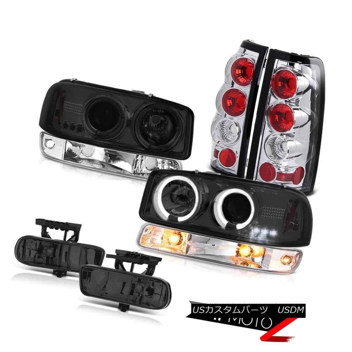 ヘッドライト 99-02 Sierra 3500HD Foglights sterling chrome taillamps parking light headlamps 99-02 Sierra 3500HDフォグライト純正クロームテールランプパーキングライトヘッドランプ