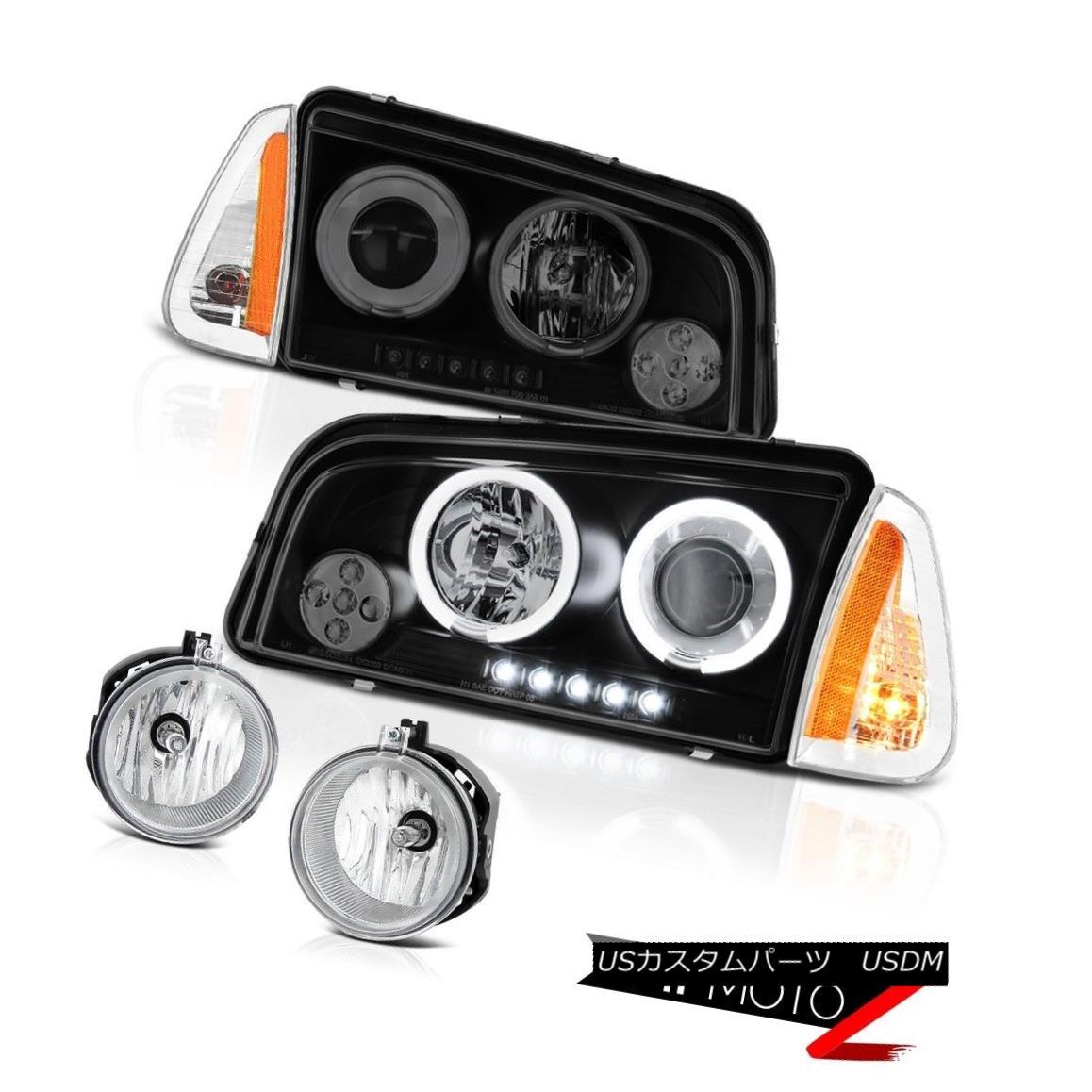 ヘッドライト 06 07 08 Dodge Charger SRT8 Foglamps signal lamp projector headlamps CCFL Halo 06 07 08ダッジチャージャーSRT8フォグランプ信号ランププロジェクターヘッドランプCCFL Halo
