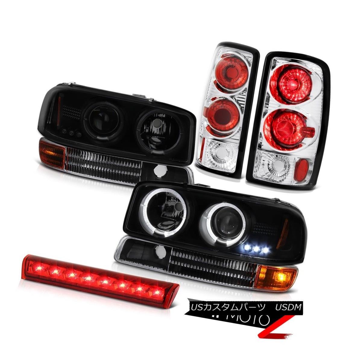 ヘッドライト 00 01 02 03 04 05 06 Yukon SLT LED Head Lights Brake Lamps Tail Lights Red Third 00 01 02 03 04 05 06ユーコンSLT LEDヘッドライトブレーキランプテールライトレッド3