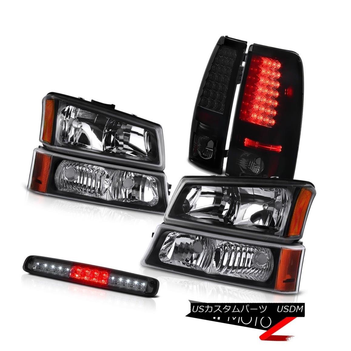 ヘッドライト 03-06 Silverado 2500Hd Inky Black Signal Lamp Roof Cargo Headlights Taillights 03-06 Silverado 2500Hd Inky Black信号ランプ屋根カーゴヘッドライトテールライト