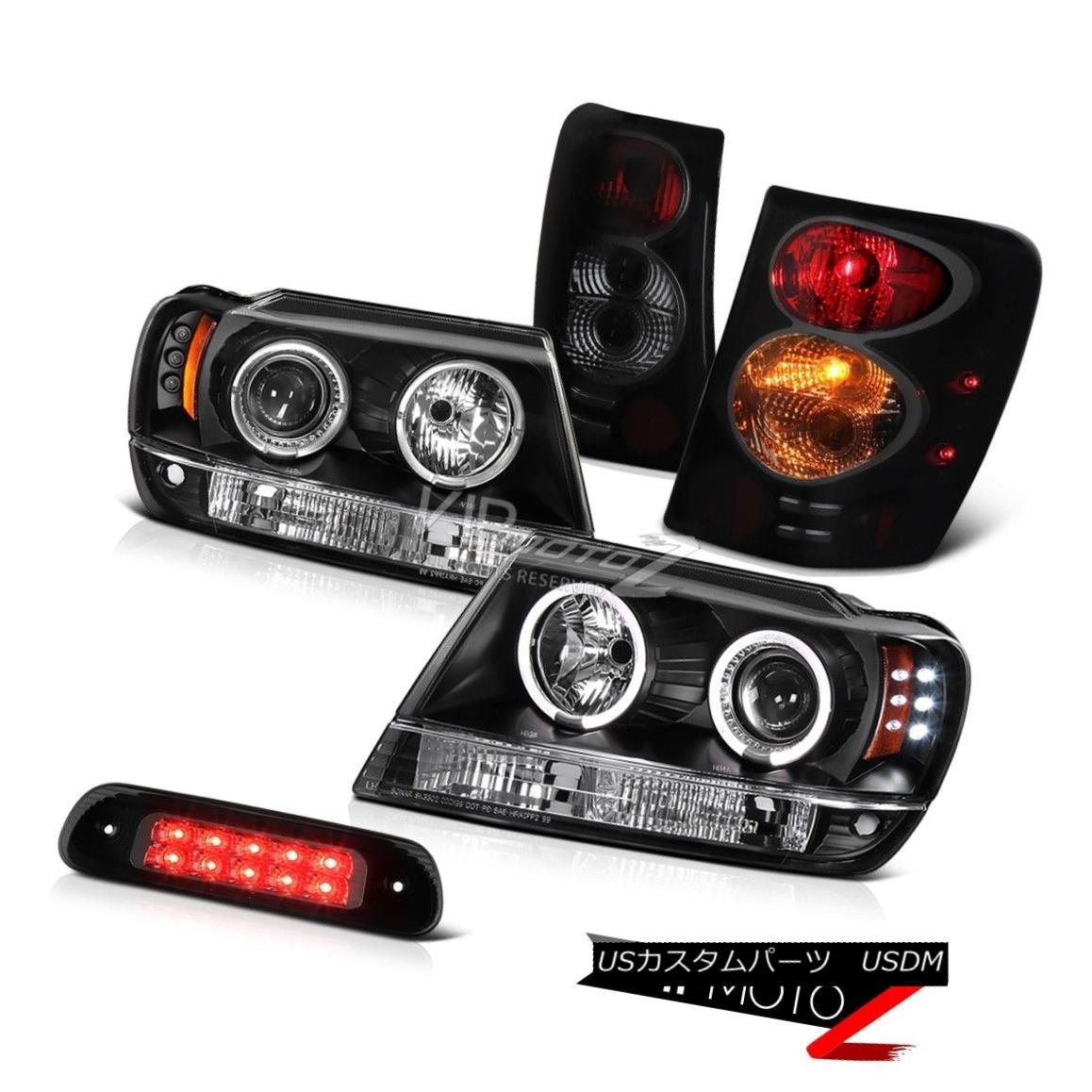 ヘッドライト 99-04 Jeep Grand Cherokee 4WD Roof Cargo Light Taillamps Headlights Altezza Sm 99-04ジープグランドチェロキー4WD屋根カーゴライトテールランプヘッドライトAltezza Sm