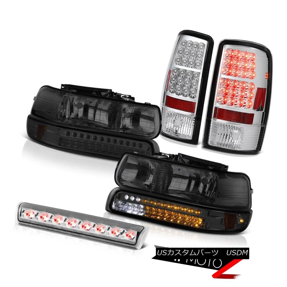 ヘッドライト 00 01 02 03 04 05 06 Tahoe 4.8L LED Headlights Chrome Tail Lamp Euro Third Brake 00 01 02 03 04 05 06タホ4.8L LEDヘッドライトクロームテールランプユーロ第3ブレーキ