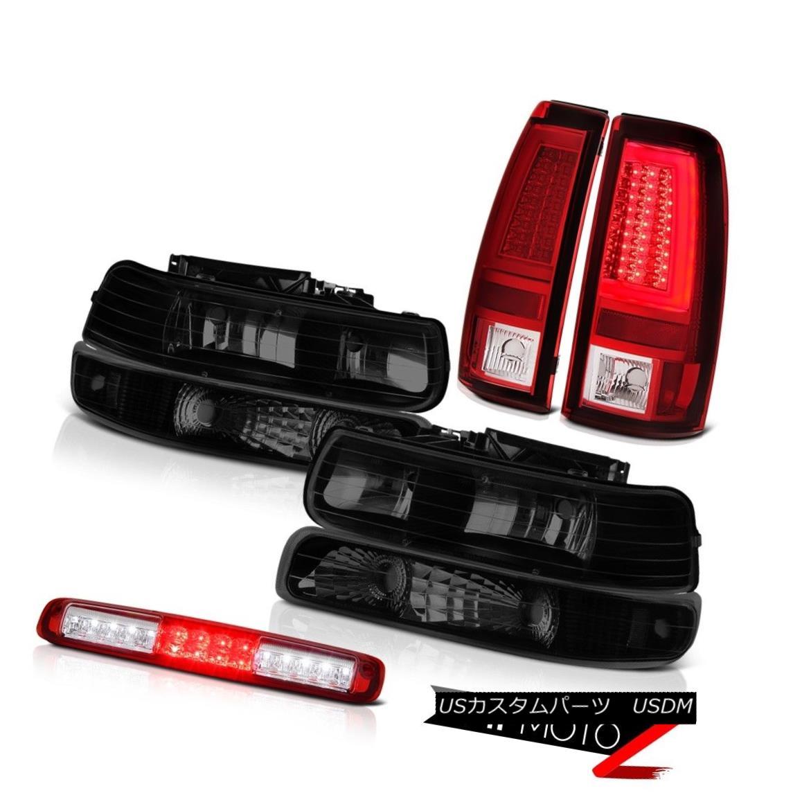 ヘッドライト 1999-2002 Silverado LTZ Red Taillamps Headlamps Bumper High Stop Lamp OLED Prism 1999-2002 Silverado LTZレッドタイルランプヘッドランプバンパーハイストップランプOLEDプリズム