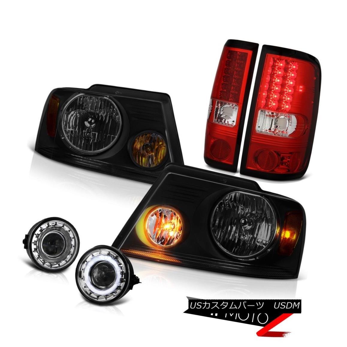 ヘッドライト 06-08 Ford F150 Lariat Fog Lights Headlamps Taillights OE Style SMD