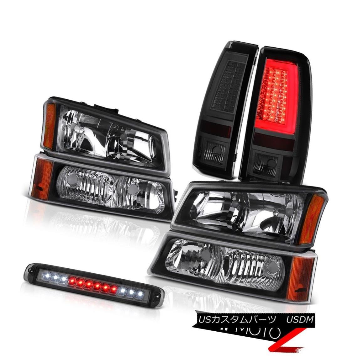ヘッドライト 03-06 Silverado 2500Hd Rear Brake Lights Roof Cab Light Headlamps