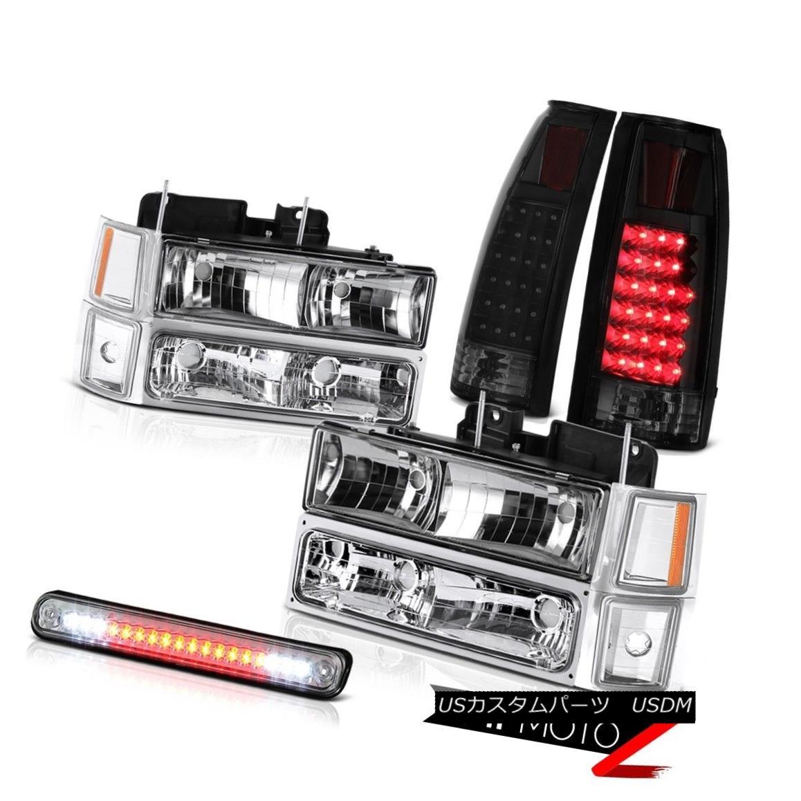 ヘッドライト 94-98 Chevy C2500 3RD Brake Lamp Rear Lamps Parking Turn Signal Lights Headlamps 94-98 Chevy C2500 3RDブレーキランプリアランプパーキングターンシグナルライトヘッドランプ
