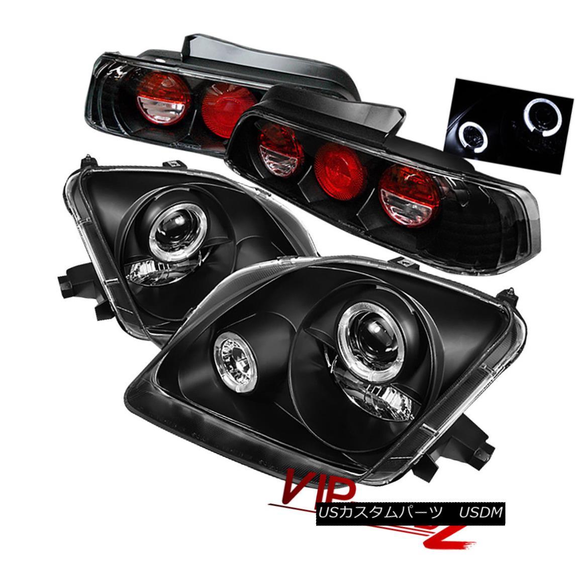 ヘッドライト Halo Projector Headlight+Black Altezza Tail Lamp 97-01 Prelude H22/H23 JDM VTEC ハロープロジェクターヘッドライト+ Blac  k Altezzaテールランプ97-01予告編H22 / H23 JDM VTEC