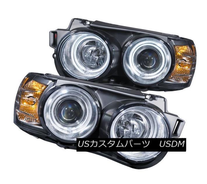 ヘッドライト Anzo 121489 Set of 2 Chrome Projector Headlights w/ Halos for Chevrolet Sonic Anzo 121489 Chevrolet Sonic用のHalos搭載クロームプロジェクターヘッドライト2個セット