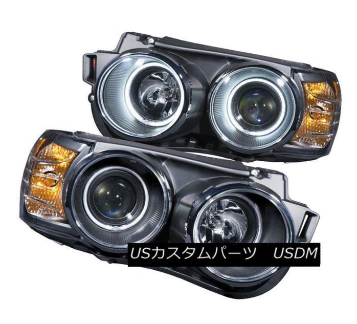 ヘッドライト Anzo 121488 Set of 2 Black Projector Headlights w/ Halos for Chevrolet Sonic Anzo 121488シボレーソニック用のHalos搭載の2つの黒プロジェクターヘッドライトセット