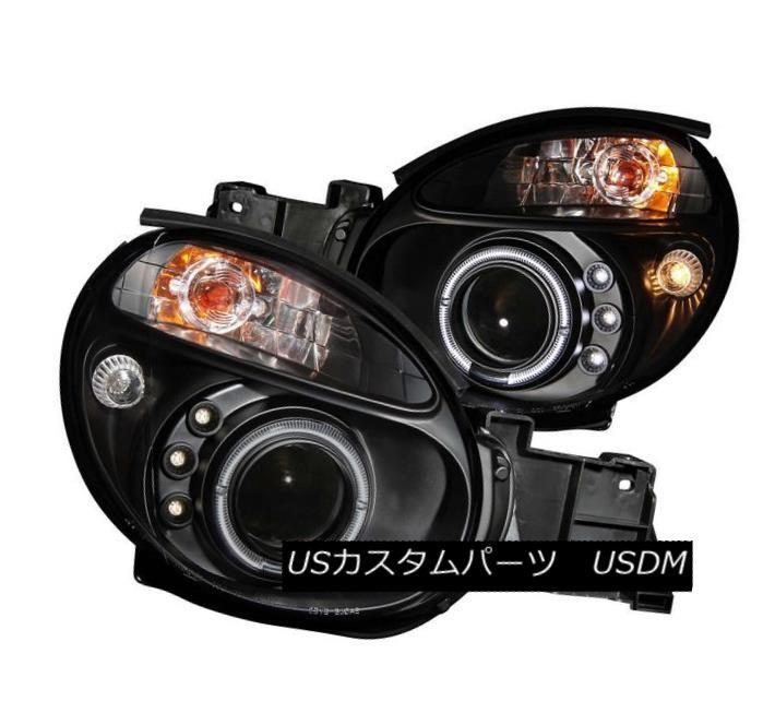 ヘッドライト ANZO 121436 Set of 2 Black Halo Projector Headlights for 02-04 Subaru Impreza ANZO 121436 02-04スバルインプレッサ用ブラックハロープロジェクターヘッドライト2個セット