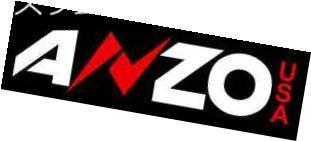 ヘッドライト Anzo 111324 Set of 2 Black U-Bar Style Projector Headlights for Ford Escape Anzo 111324 Ford Escape用の2つのブラックUバースタイルのプロジェクターヘッドライトのセット