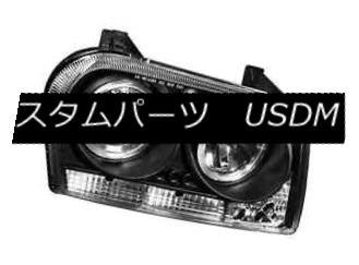 ヘッドライト IPCW CWS-414B2 Black Housing Projector Headlights w/Rings for Chrysler 300 IPCW CWS-414B2ブラッククライスラー300用プロジェクターヘッドライト