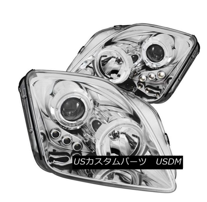 ヘッドライト ANZO 121342 Set of 2 CCFL Halo Projector Headlights for 97-01 Honda Prelude ANZO 121342ホンダプレリュード97-01用2 CCFLハロープロジェクターヘッドライトセット