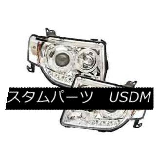 ヘッドライト IPCW CWS-540C2 Chrome Projector Headlights w/Rings for 08-12 Ford Escape IPCW CWS-540C2 08-12 Ford Escape用リング付きクロムプロジェクターヘッドライト