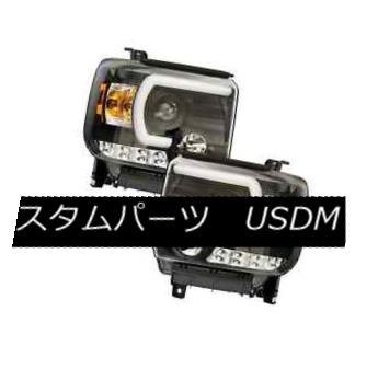 ヘッドライト IPCW CWS-3043B2 Black Projector Headlights w/Rings for GMC Sierra 1500/2500/3500 IPCW CWS-3043B2 GMC Sierra 1500/2500/3500用リング付プロジェクターヘッドライト