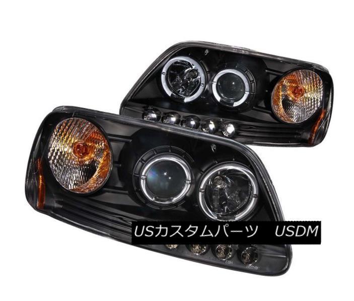 ヘッドライト ANZO 111031 Set of 2 Black Halo Projector Headlights for Ford F-150/Expedition ANZO 111031フォードF-150 / Expediti 用ブラックハロープロジェクターヘッドライト2個セット