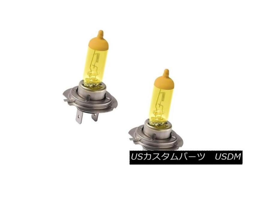 ヘッドライト Putco 230007JY 2 Pure Halogen Headlight Bulbs - Jet Yellow H7 Putco 230007JY 2純正ハロゲンヘッドライトバルブ - ジェットイエローH7