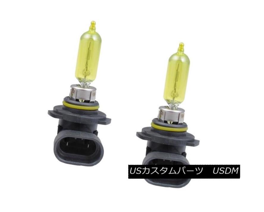 ヘッドライト Putco 239005JY 2 Pure Halogen Headlight Bulbs - Jet Yellow 9005 Putco 239005JY純正ハロゲンヘッドライトバルブ - Jet Yellow 9005