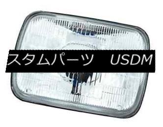 ヘッドライト IPCW CWC-7005 Plain 7x6 Inch Rectangular Conversion Headlight IPCW CWC-7005プレーン7×6インチ長方形コンバージョンヘッドライト