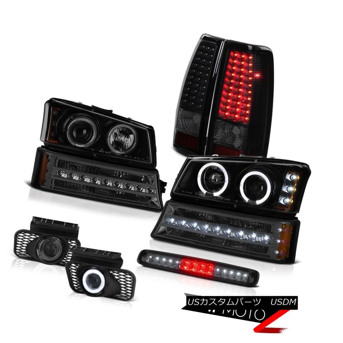 ヘッドライト 03-06 Silverado 3500Hd Third Brake Lamp Fog Lights Bumper Light Rear Headlights 03-06 Silverado 3500Hd第3ブレーキランプフォグライトバンパーライトリアライト