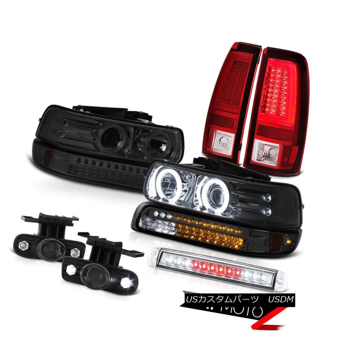 ヘッドライト 99-02 Silverado WT Taillamps Roof Cab Lamp Parking Headlamps Foglamps Brightest 99-02 Silverado WT Taillampsルーフキャブ用ランプパーキング用ヘッドランプフォグランプ