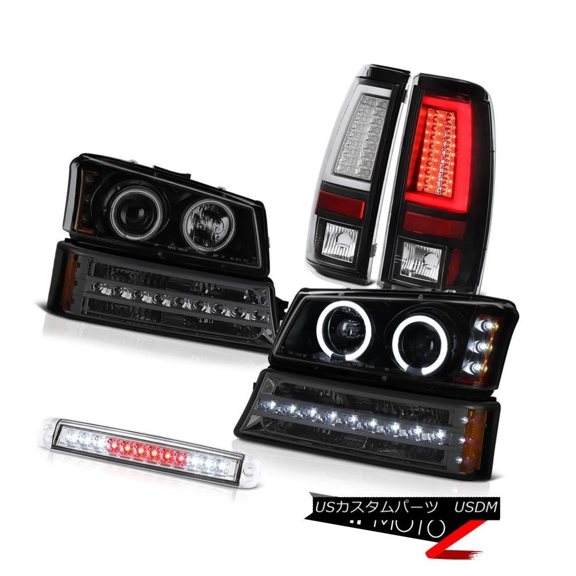ヘッドライト 2003-2006 Silverado Tail Lamps High Stop Light Bumper Headlights OLED Prism LED 2003-2006シルバラードテールランプハイストップライトバンパーヘッドライトOLEDプリズムLED