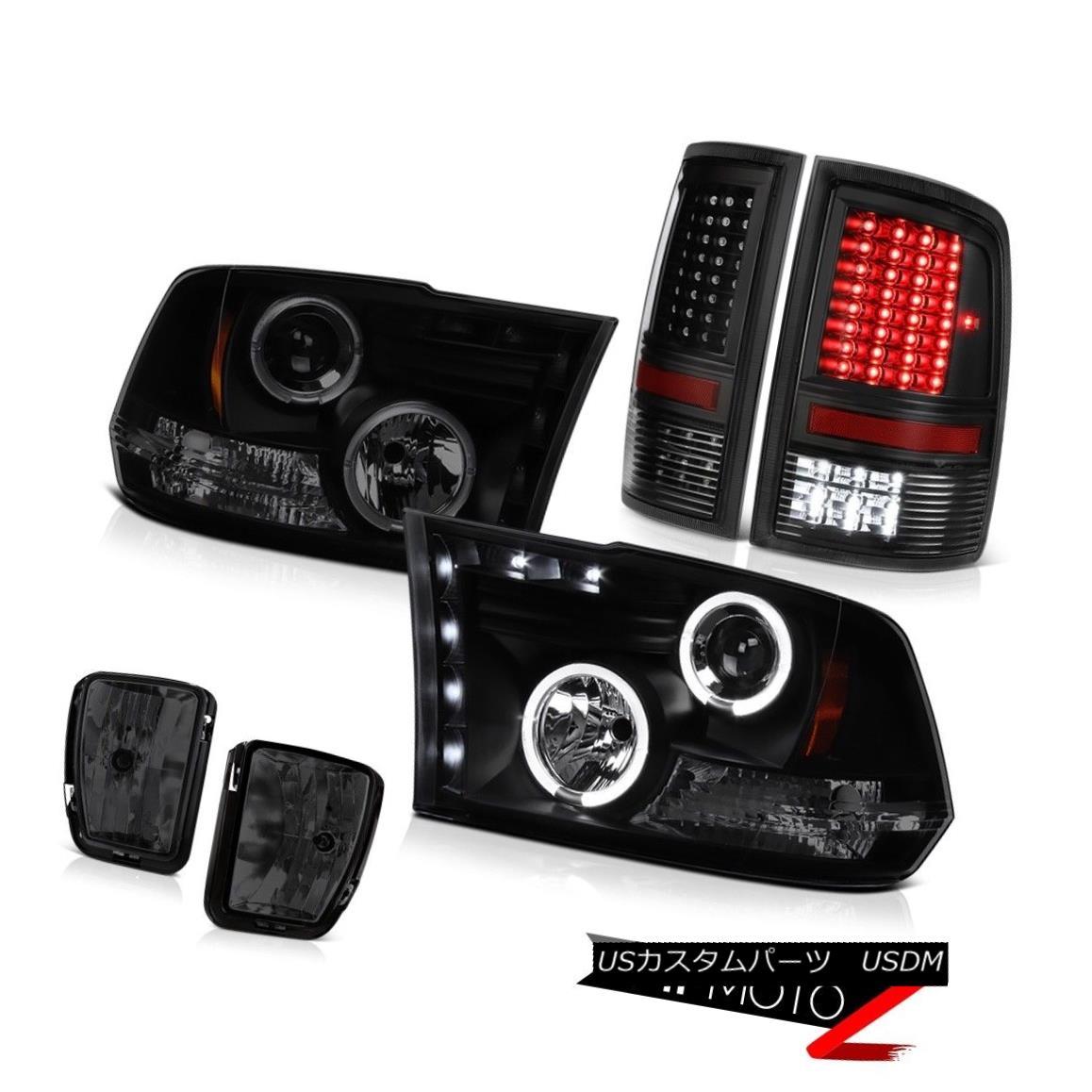ヘッドライト 2013-2018 Ram 1500 Outdoorman Smokey Foglights Parking Brake Lights Headlights 2013-2018ラム1500アウトドアマンスモーキーフォグライティングパーキングブレーキライトヘッドライト