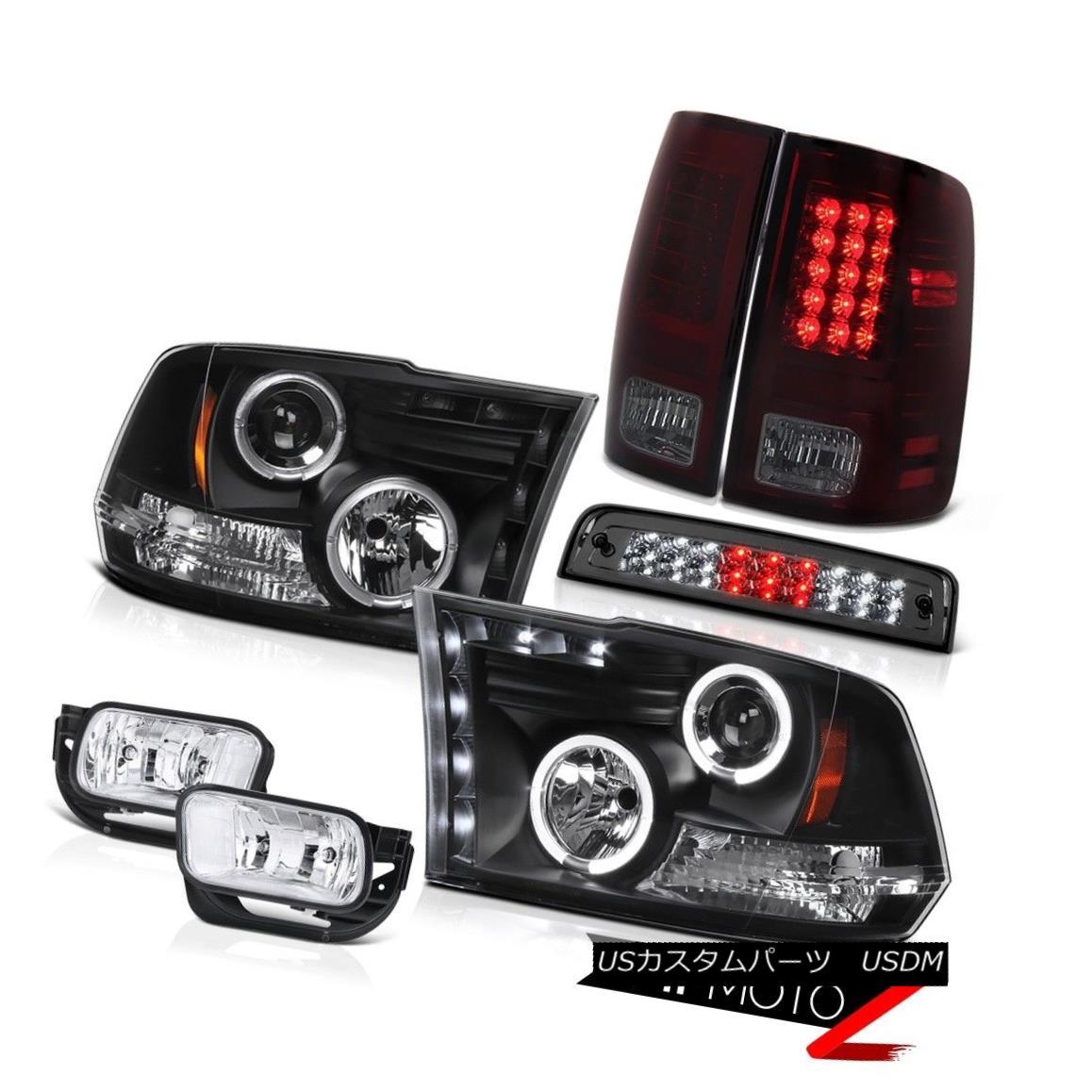 ヘッドライト 10-18 Dodge Ram 2500 3500 SLT Foglamps Roof Brake Lamp Tail Lamps Headlamps LED 10-18 Dodge Ram 2500 3500 SLTフォグランプ屋根ブレーキランプテールランプヘッドランプLED