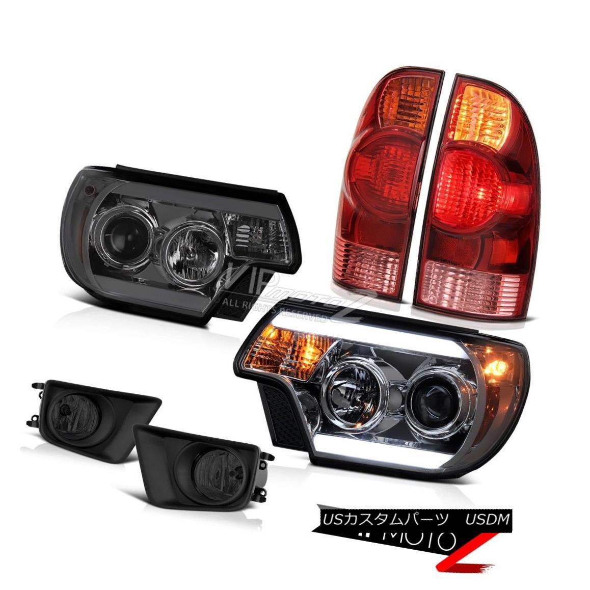ヘッドライト 12-15 Toyota Tacoma 4X4 Foglamps headlamps taillamps Light Bar Tron Style Cool 12-15トヨタタコマ4X4フォグランプヘッドランプテールランプライトバートロンスタイルクール