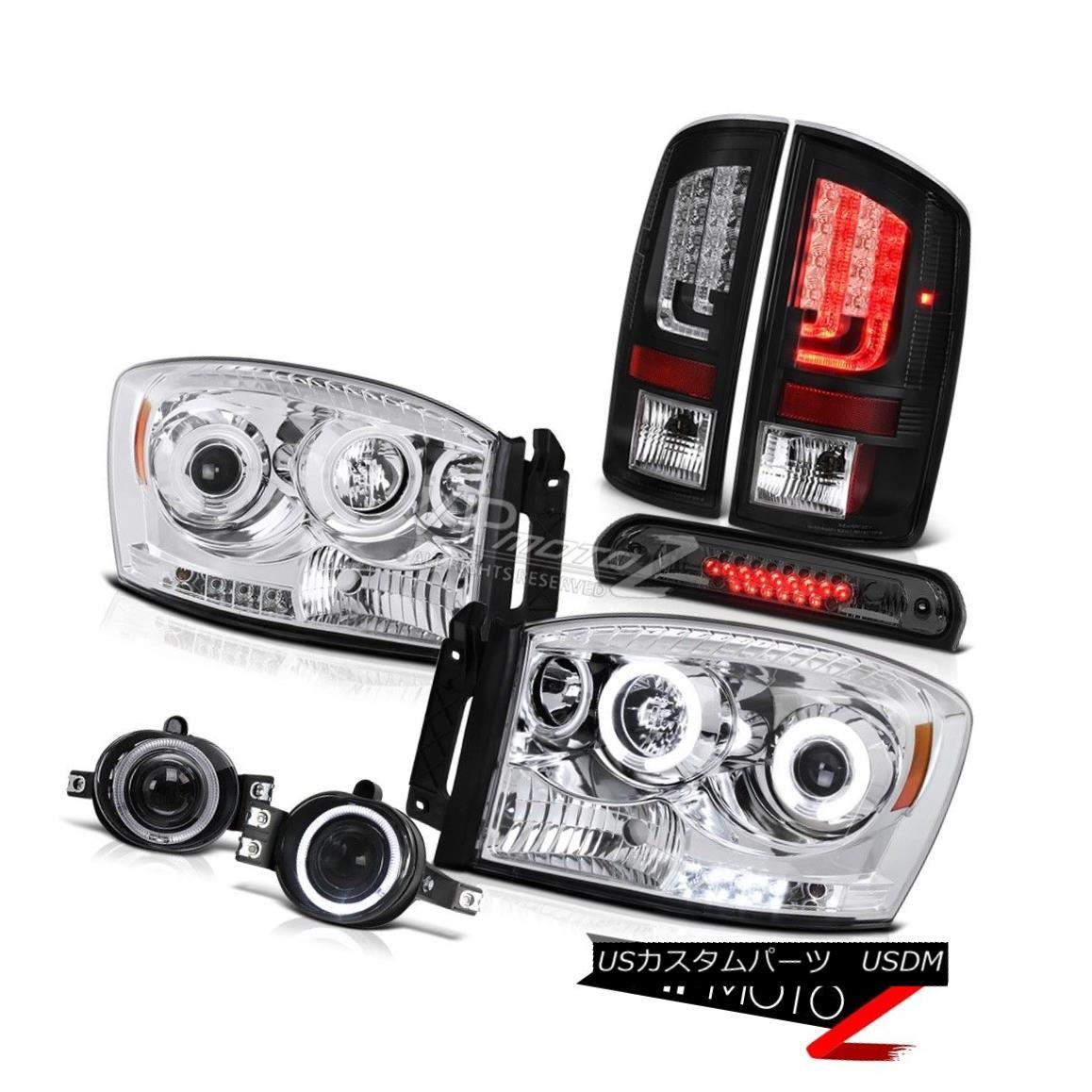 ヘッドライト 07-09 Dodge Ram 2500 3500 ST Rear Brake Lamps Headlamps Fog 3RD Light LED NeweST 07-09 Dodge Ram 2500 3500 STリアブレーキランプヘッドランプフォグ3RDライトLED NeweST