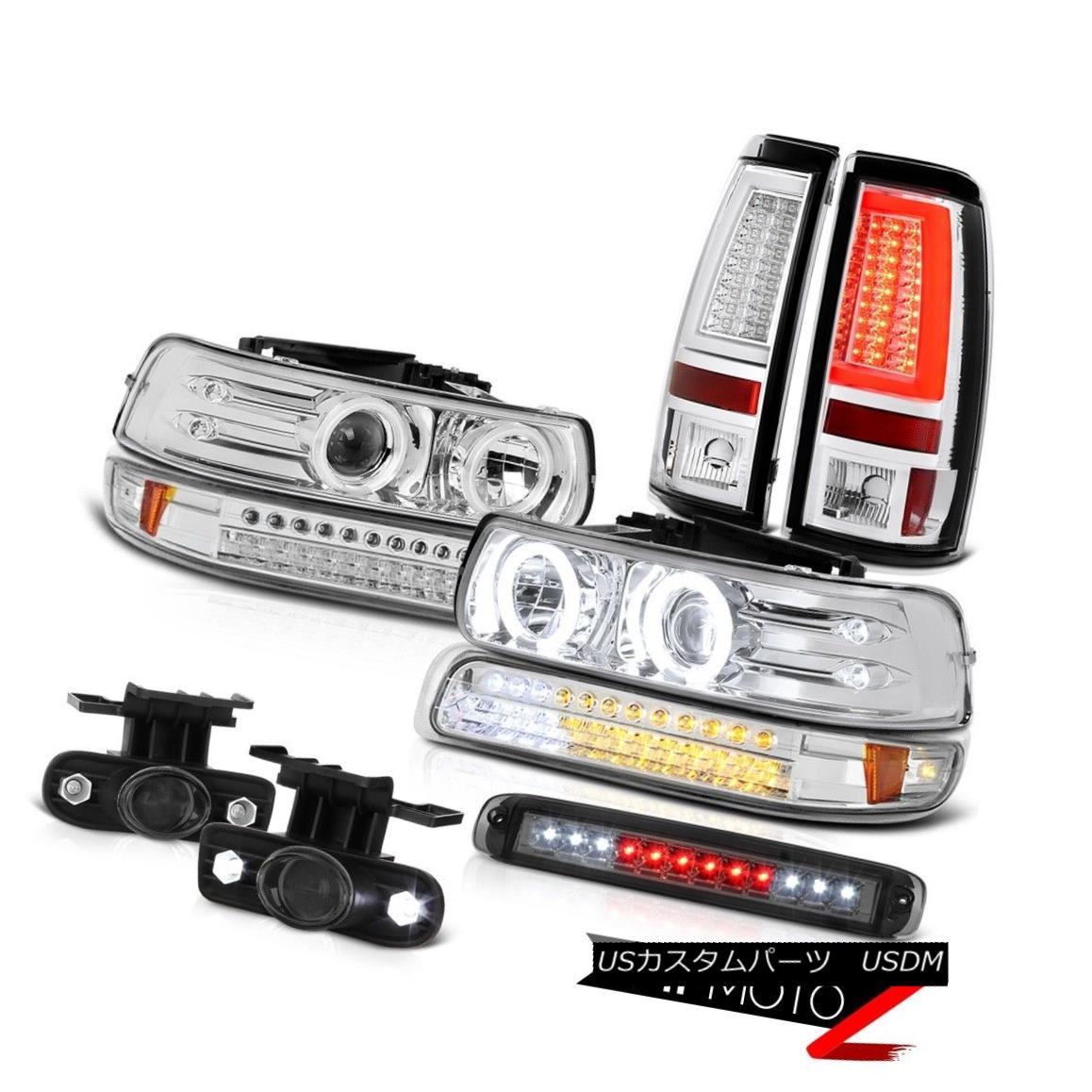 ファッションの ヘッドライト 1999-2002 1999-2002 Silverado LT Taillights High Silverado Stop Lamp Parking High Headlights Foglamps LED 1999-2002 Silverado LT灯台ハイストップランプパーキングヘッドライトフォグランプLED, ライフハーモニー:0ad8f365 --- scrabblewordsfinder.net