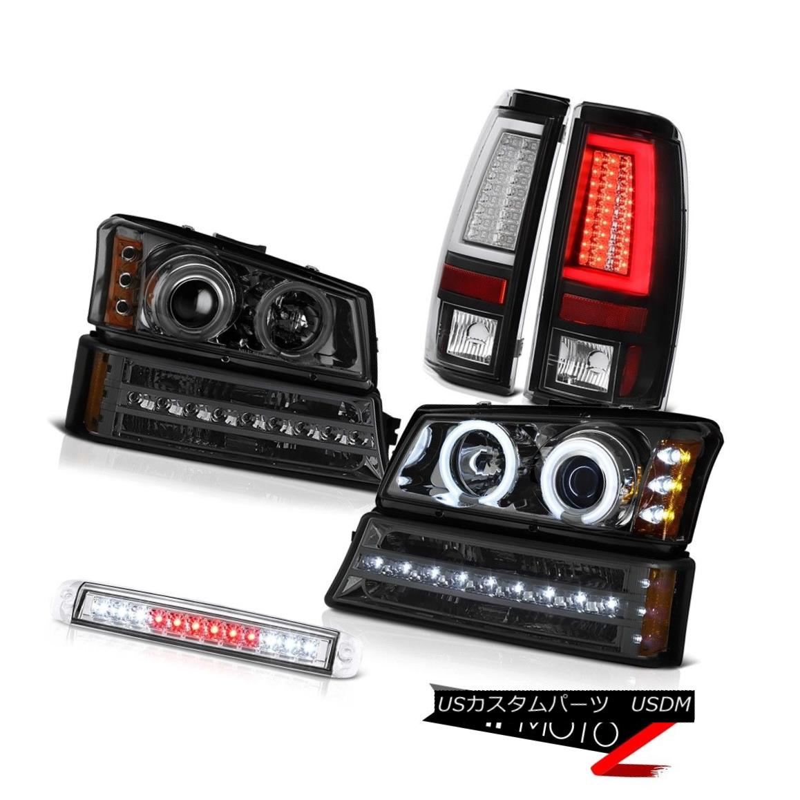 ヘッドライト 03-06 Silverado 1500 Taillights 3RD Brake Light Signal Headlights