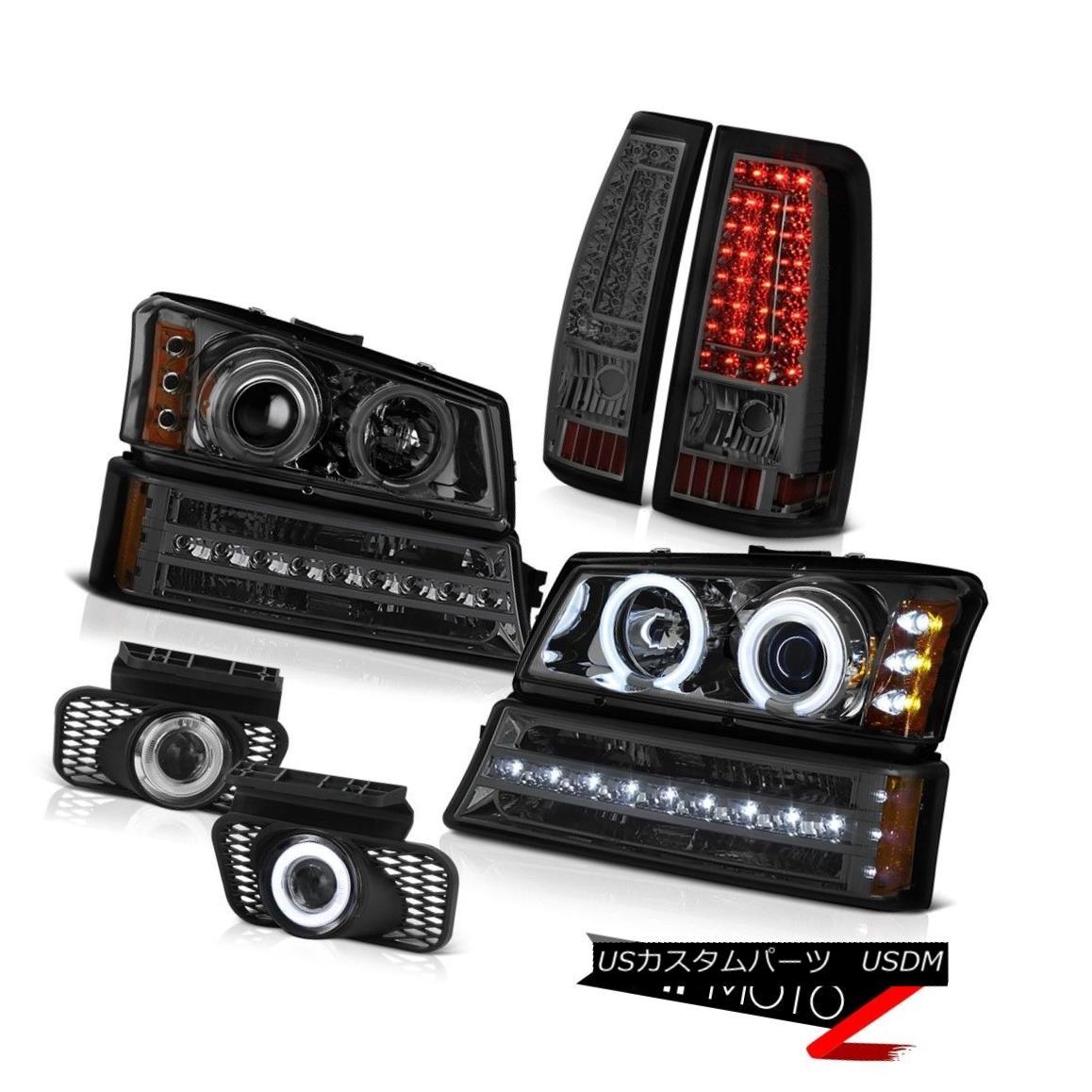 ヘッドライト 03-06 Silverado 1500 Clear Chrome Fog Lights Taillights Signal Light Headlights 03-06 Silverado 1500クリアクロームフォグライトティアライトシグナルライトヘッドライト
