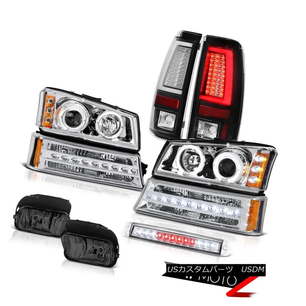 ヘッドライト 03-06 Chevy Silverado Taillamps 3RD Brake Lamp Fog Lights Bumper Light Headlamps 03-06 Chevy Silverado Taillamps 3RDブレーキランプフォグライトバンパーライトヘッドランプ