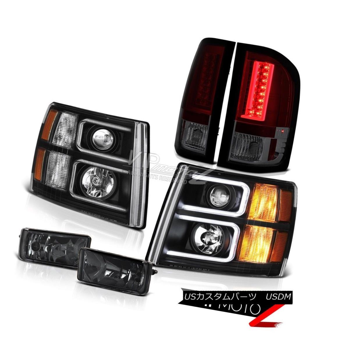 ヘッドライト 2007-2013 Silverado WT Taillamps Headlamps Foglamps Tron Style Tron Tube Newest 2007-2013 Silverado WT TaillampsヘッドランプフォグランプTronスタイルTronチューブ最新