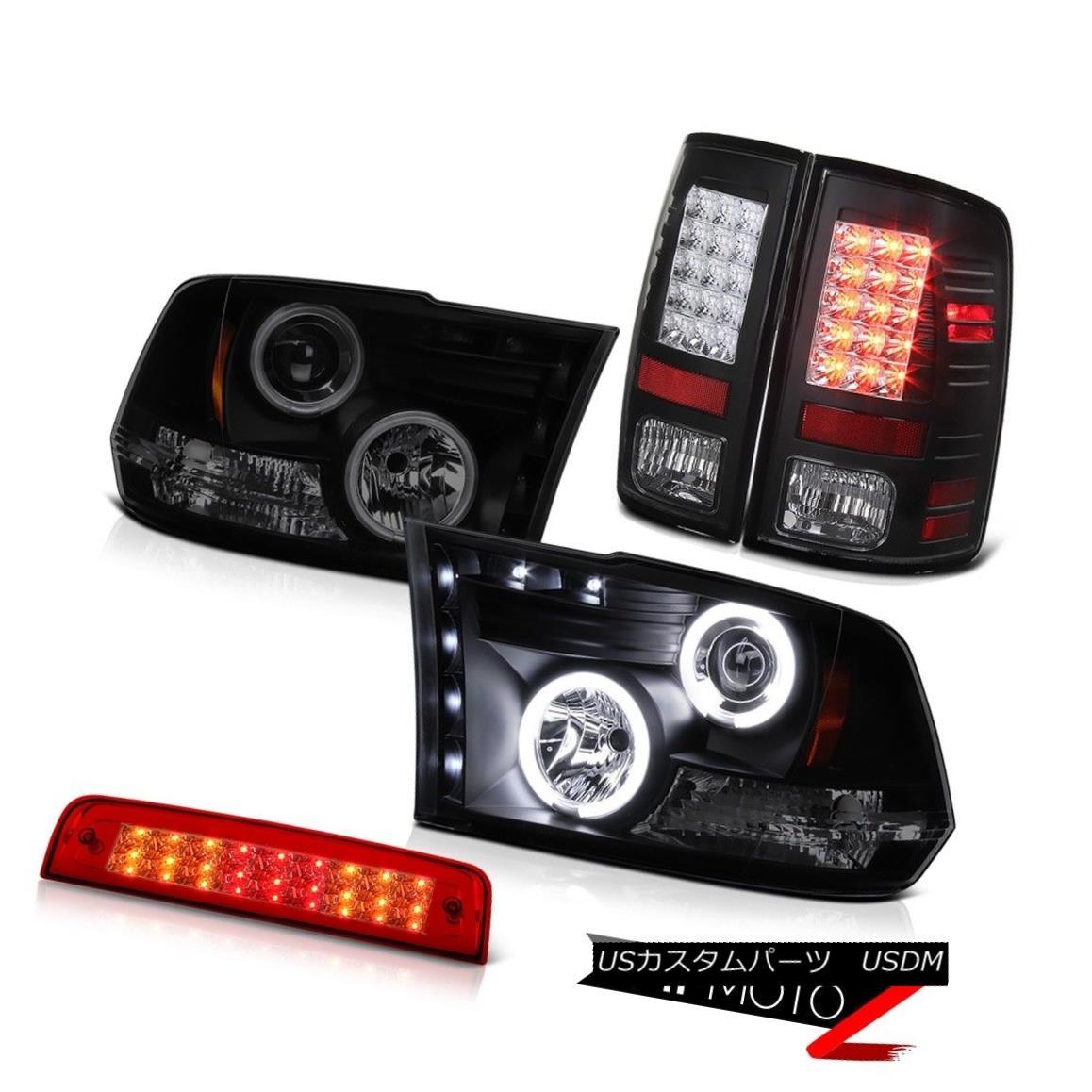 ヘッドライト 2010-2018 Ram 3500 Turbodiesel Roof Cab Light Rear Brake Lamps Headlamps LED SMD 2010-2018 Ram 3500 TurbodieselルーフキャブライトリアブレーキランプヘッドランプLED SMD