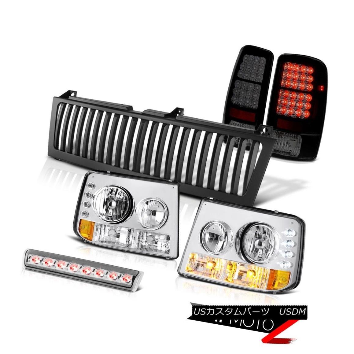 ヘッドライト 00 01 02 03 04 05 06 Suburban Headlamps Sinister LED Taillight High Brake Grille 00 01 02 03 04 05 06郊外ヘッドランプ懐中電灯ハイライトハイブレーキグリル