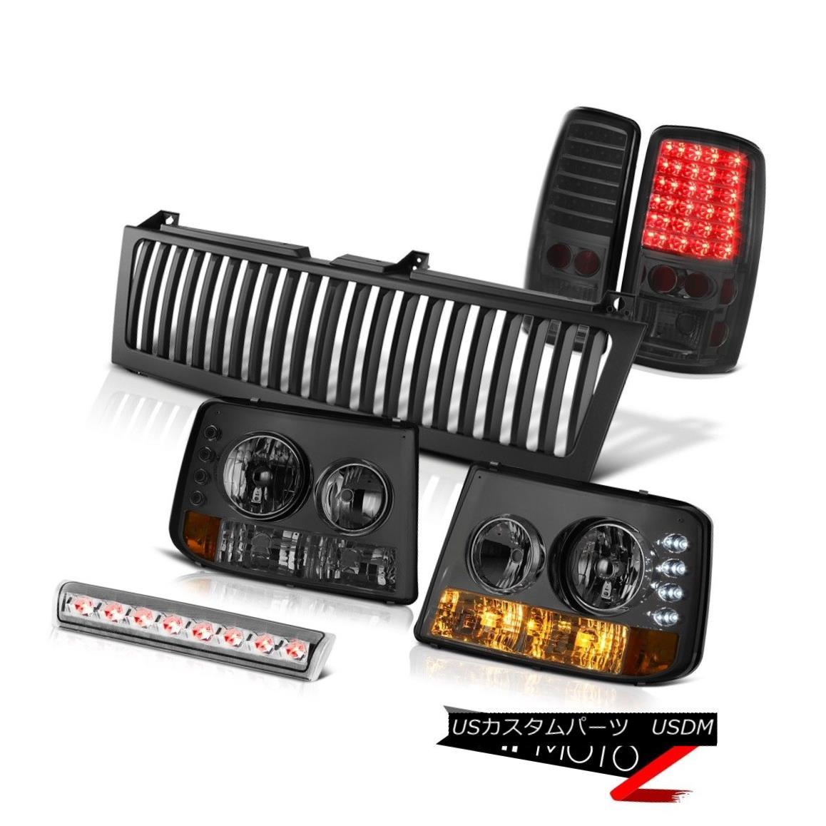ヘッドライト 00 01 02 03 04 05 Tahoe Bumper+Headlights Smoked LED Taillamps High Stop Grille 00 01 02 03 04 05タホバンパー+ヘッドリッグ htsスモークLEDタイルランプハイストップグリル