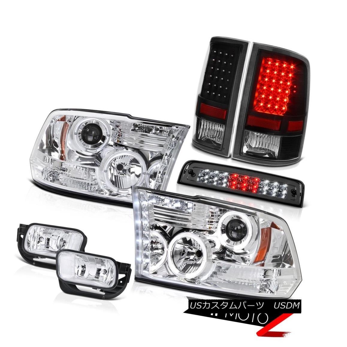 ヘッドライト 09-13 Dodge Ram 1500 6.7L Foglamps Roof Brake Lamp Taillamps Headlamps Halo Ring 09-13 Dodge Ram 1500 6.7Lフォグランプ屋根用ブレーキランプタイルランプヘッドランプHalo Ring