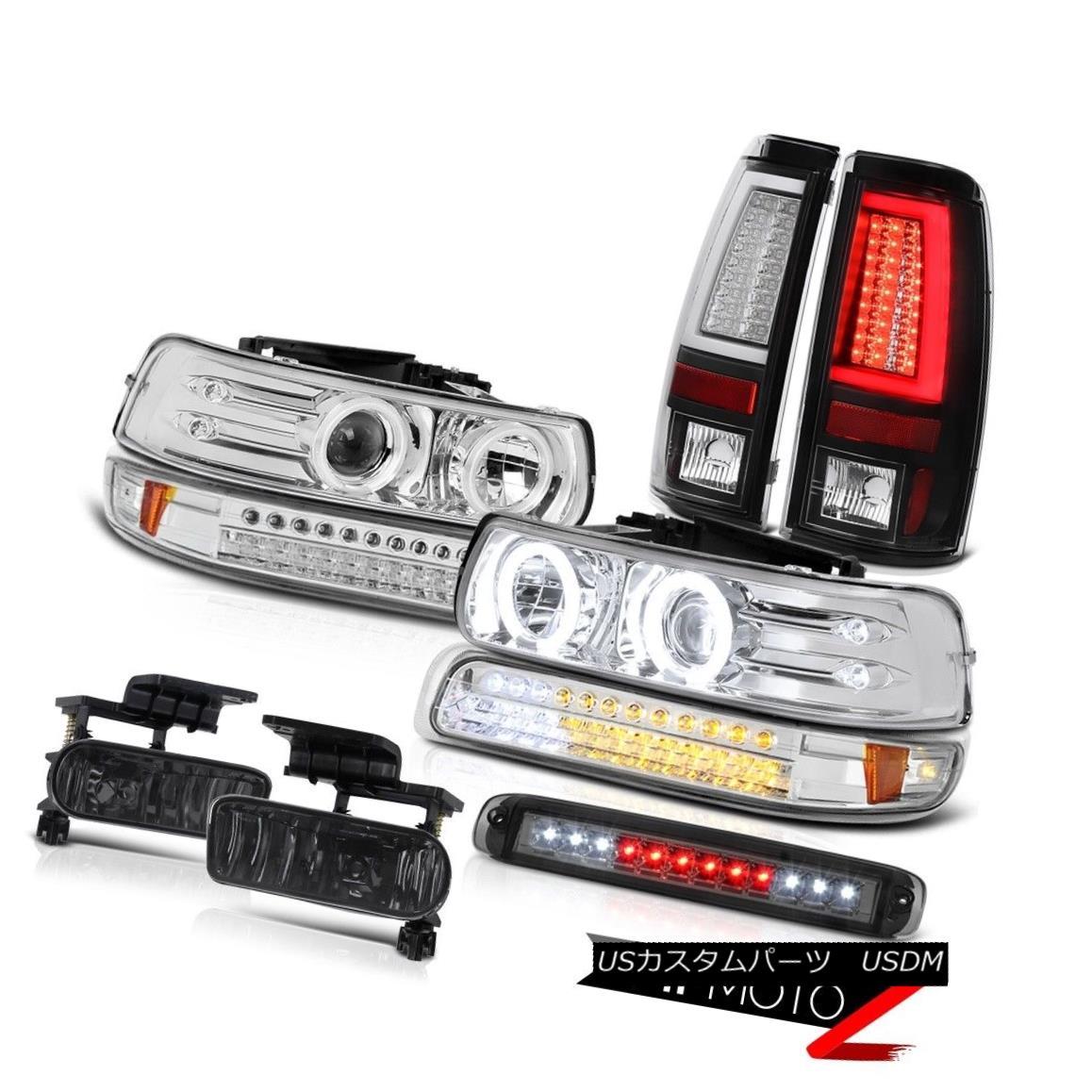 ヘッドライト 99-02 Silverado 3500 Taillights High Stop Lamp Signal Light Headlamps Fog Lamps 99-02 Silverado 3500テールライトハイストップランプシグナルライトヘッドランプフォグランプ