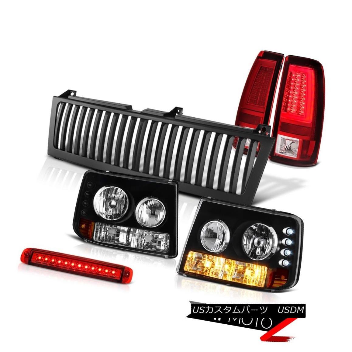 ヘッドライト 99-02 Silverado 5.3L Parking Brake Lights Vertical Grille 3rd Light OLED Prism 99-02 Silverado 5.3Lパーキングブレーキライト垂直グリル第3ライトOLEDプリズム