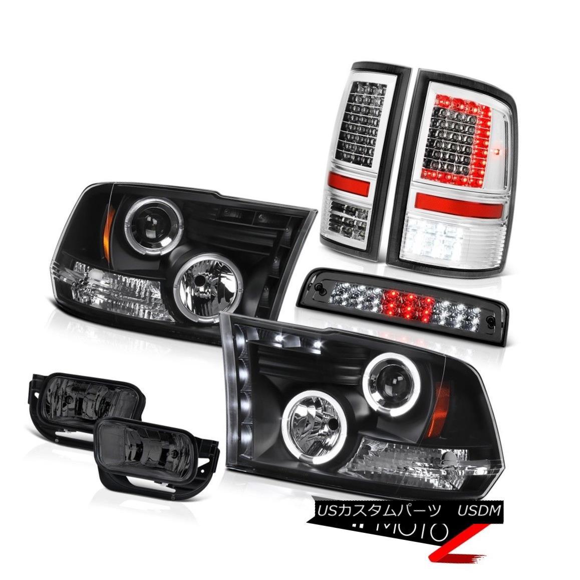 ヘッドライト 09-16 17 18 Dodge RAM 3500 Chrome Led Tail Light Driving Lamp Brake Lights Head 09-16 17 18ドッジRAM 3500クロームテールライトテールライト駆動ランプブレーキライトヘッド